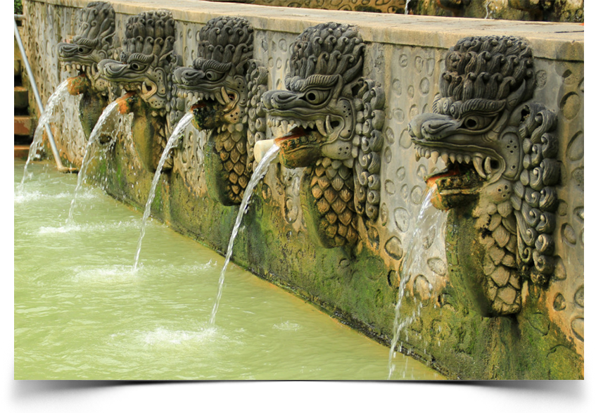 Lion Fountains